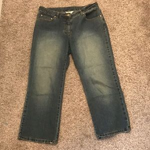 Lilly Pulitzer crop jeans size 8